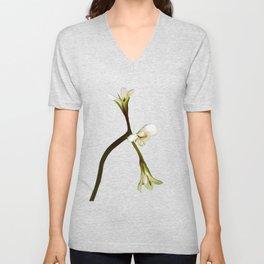 wild geranium Unisex V-Neck