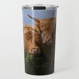 Highland Cows Travel Mug