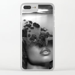 Rock girl Clear iPhone Case