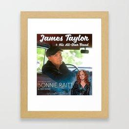 James Taylor concert 2019 del1 Framed Art Print