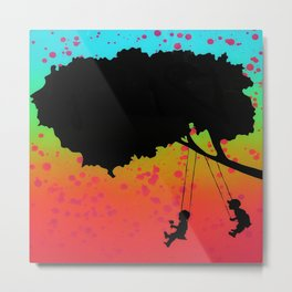 Swing Your Life Away 2 Metal Print