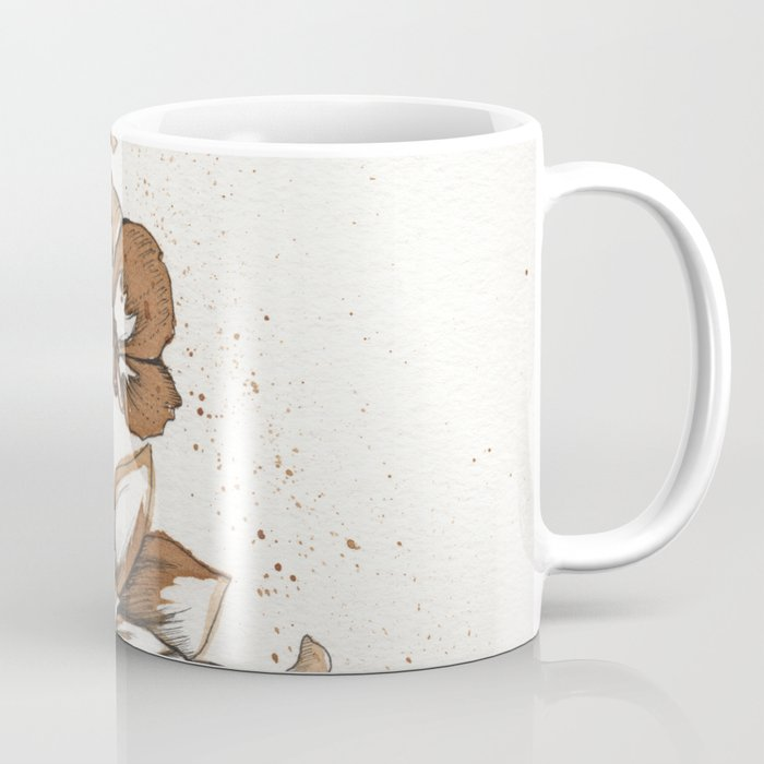 Coffee Art- Flowers Coffee Mug