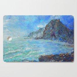 wild west Piha beach Cutting Board