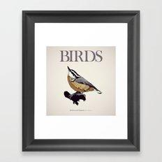 BIRDS 01 Framed Art Print