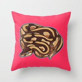 Lesser Ball Python Throw Pillow