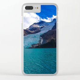 Mount Robson as seen from Berg Lake, BC Canada Clear iPhone Case