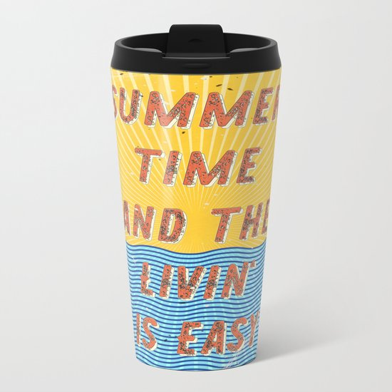 Summertime - A Hell Songbook Edition Metal Travel Mug