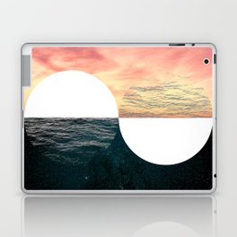 Sunset Moon Horizon Laptop & iPad Skin
