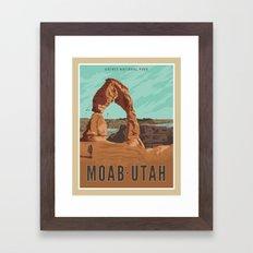 Moab Utah Framed Art Print
