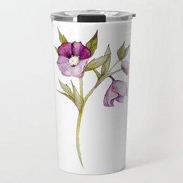 Purple Hellebore Travel Mug