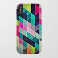 spires iPhone & iPod Cases featuring Cyrvynne xyx by Spires