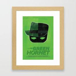 The Green Hornet Framed Art Print