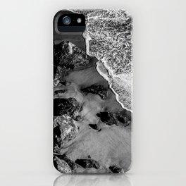 Ocean Waves on Rocks iPhone Case