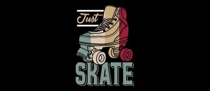 Just Skate | Retro Roller Skating Coffee Mug