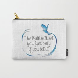 Truth Will Set You Free Carry-All Pouch