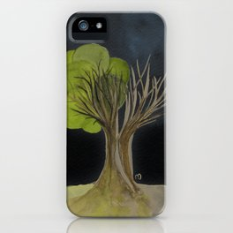 Duality Tree iPhone Case