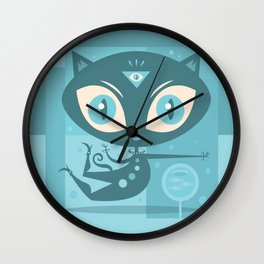 Sole Seeker Wall Clock
