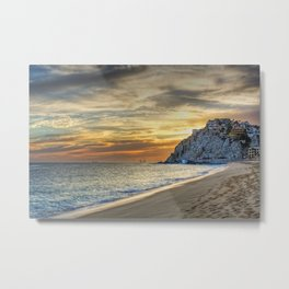 Cabo sunset Metal Print