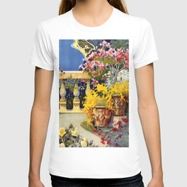 Vintage Post Card 1920 San Remo T-shirt