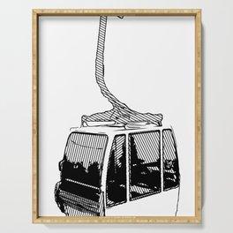Inked Gondola Serving Tray