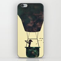 voyage iPhone & iPod Skins featuring Voyage by M. Vander