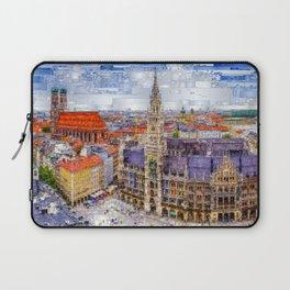 Munich Cityscape Laptop Sleeve
