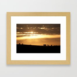 Somewhere, Sometime Framed Art Print