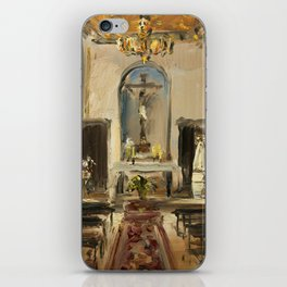 Private Chapel iPhone Skin