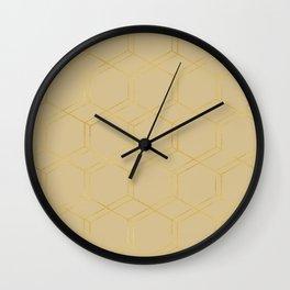 geometric v x ii Wall Clock