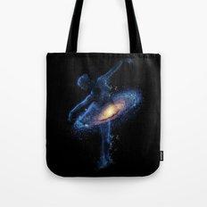 Cosmic dance Tote Bag