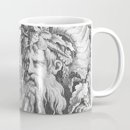 Fountain with Alpheus -  Pierre Quentin Chedel (1738) Coffee Mug