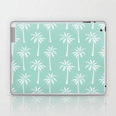 Palm trees tropical minimal ocean seaside socal beach life pattern print Laptop & iPad Skin