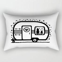 Home Is Where We Roam Rv Camper Road Trip Rectangular Pillow