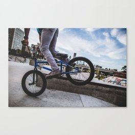 Tilted Canvas Print