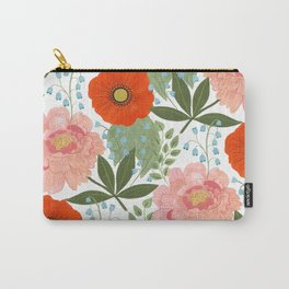 Pions and Poppies Carry-All Pouch