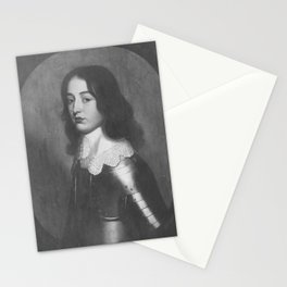 Gerard van Honthorst - Bildnis des Philipp, Prinz von der Pfalz (1627-1650) (wohl) Stationery Cards