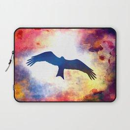 Faith is the bird that feels the light when the dawn is still dark Laptop Sleeve