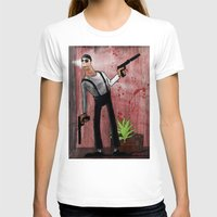 leon T-shirts featuring Leon by Eliseu Miranda