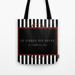 Night Circus Invitation Tote Bag