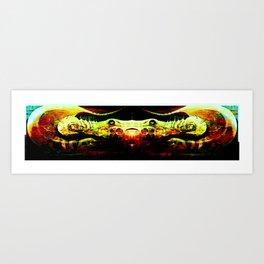 CRAB CHARISMA III Art Print