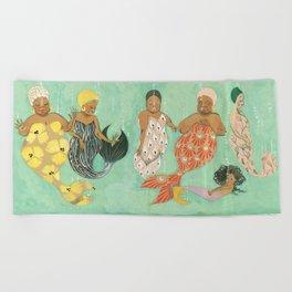 Everyone a Mermaid Beach Towel