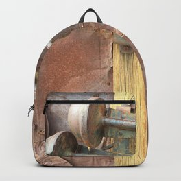 Rusty metal horns Backpack