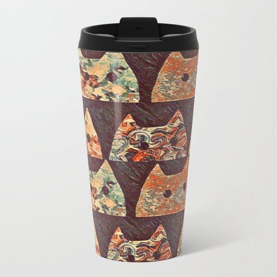 cat-69 Metal Travel Mug