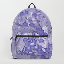 Blue grapes - abstract Backpack