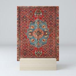 Bidjar Antique Kurdish Northwest Persian Rug Print Mini Art Print