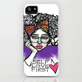 #STUKGIRL AVE iPhone Case