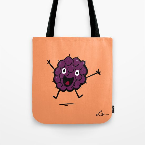 Blackberry Tote Bag