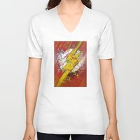 the flash V-neck T-shirts featuring Flash by Big Tortoise Art (Art by JasonKoelliker)