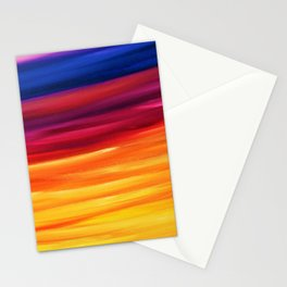 Yellow Horizon Stationery Cards