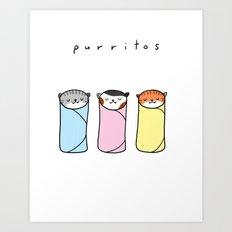 purritos Art Print